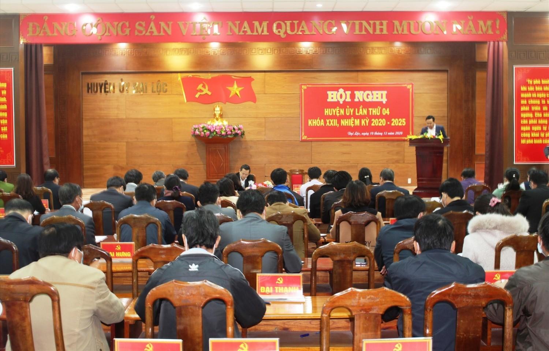 Tổng thu ngân sách năm 2020 của Đại Lộc đạt 1.220 tỷ đồng